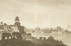 A View of Part of the Ruins of the City of Agra(019XZZ000000744U00035000)